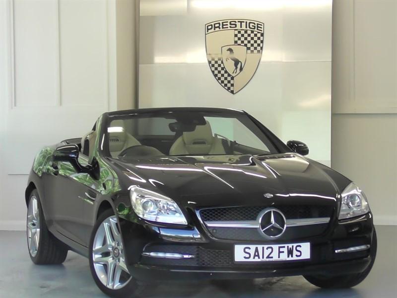 used Mercedes SLK250 BlueEFFICIENCY Edition 125 7G Auto in windlesham-surrey