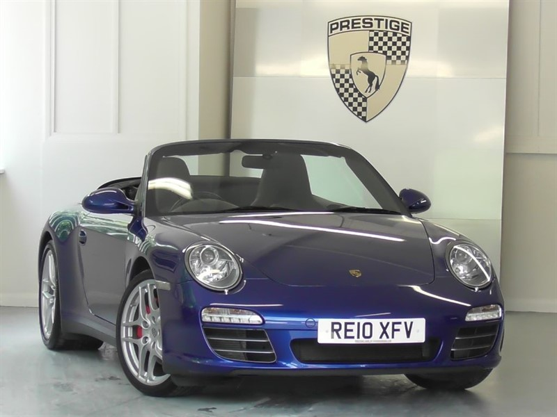 used Porsche 911 Carrera 4S PDK Convertible in windlesham-surrey