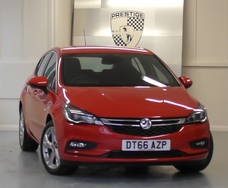 used Vauxhall Astra 1.4 TURBO SRI S/S in windlesham-surrey