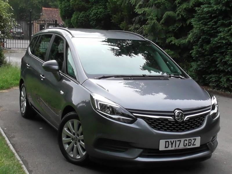 used Vauxhall Zafira Tourer 1.4T DESIGN 7 SEATER in windlesham-surrey