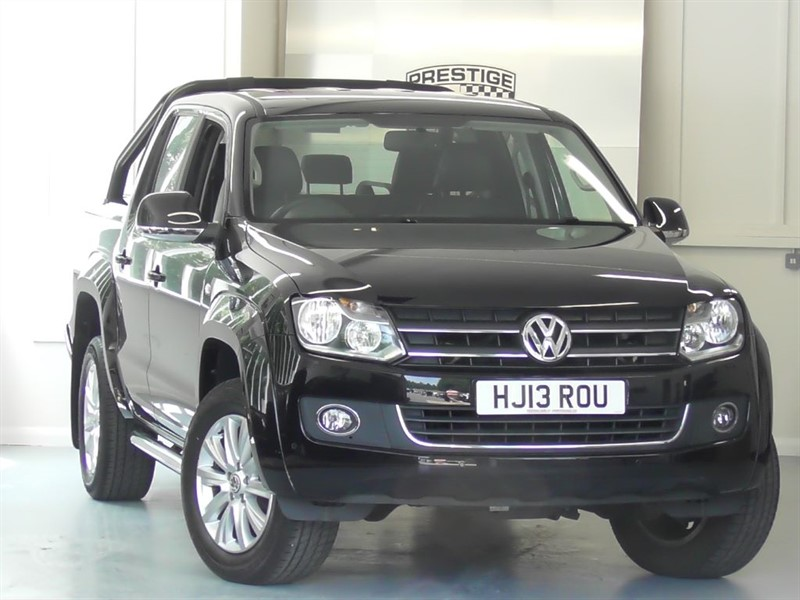 used VW Amarok 2.0 TDI Highline 4Motion Auto Double Cab Pick-Up in windlesham-surrey