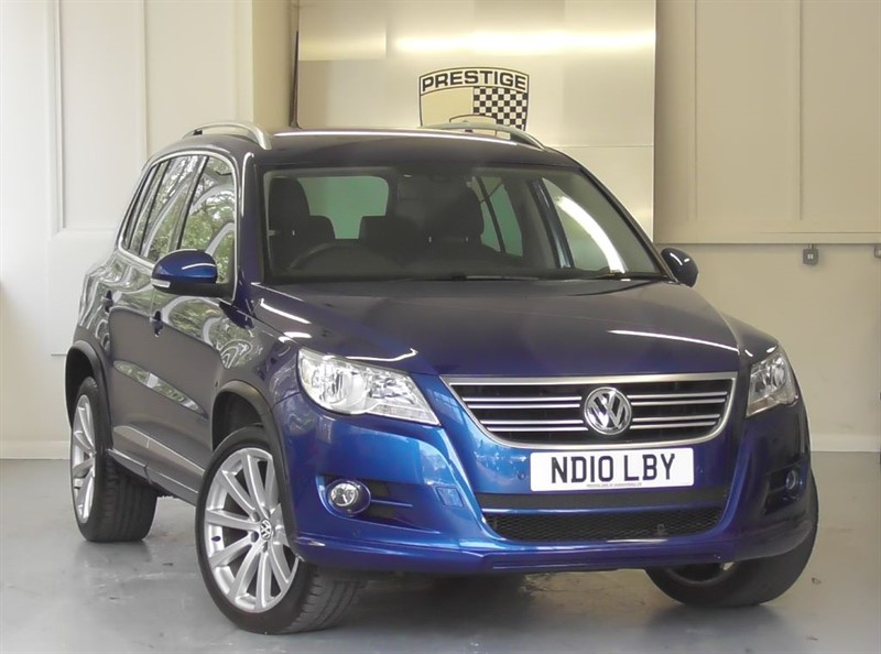 used VW Tiguan R LINE 2.0 TSI 4MOTION Auto in windlesham-surrey