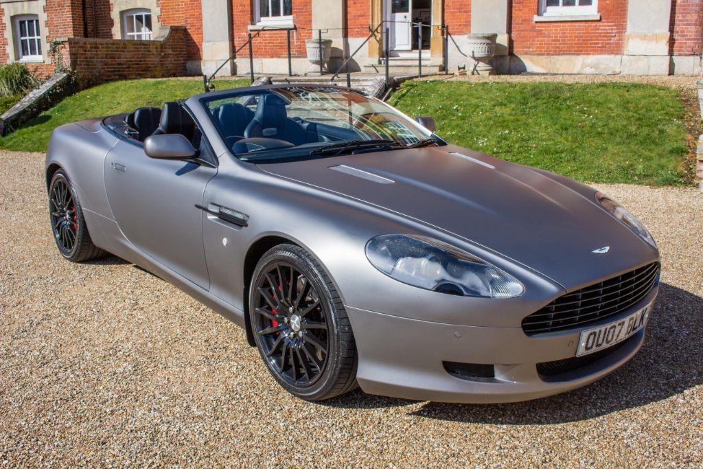 used Aston Martin DB9 5.9 V12 VOLANTE AUTO (SAT NAV) in Hampshire