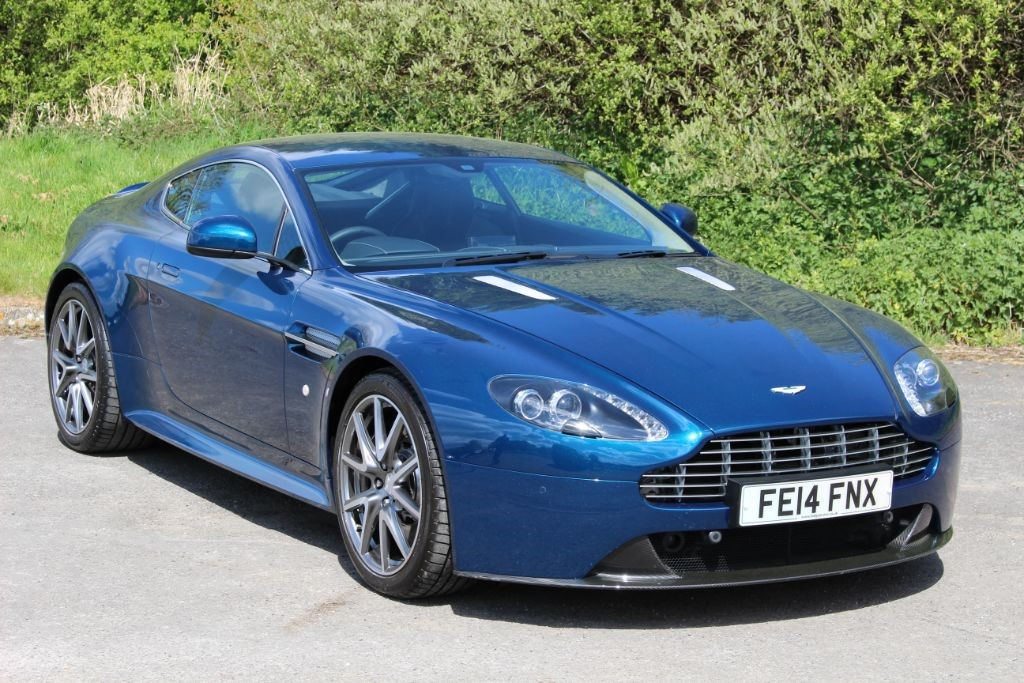 used Aston Martin Vantage S 4.7 V8 Coupe Sportshift II (Sat Nav) in Hampshire