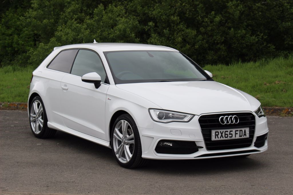 used Audi A3 1.4 TFSI S-Line (Sat Nav) in Hampshire