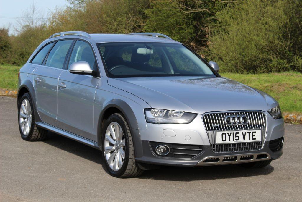 used Audi A4 allroad 2.0 TDI QUATTRO AUTO (Sat Nav) in Hampshire
