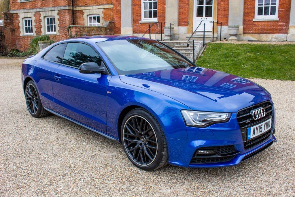 used Audi A5 2.0 TDI QUATTRO S LINE BLACK EDITION PLUS (SAT NAV) in Hampshire
