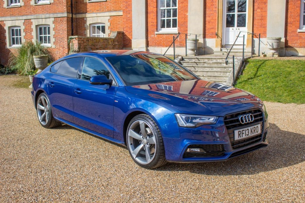 used Audi A5 SPORTBACK 2.0 TDI S LINE BLACK EDITION S/S (SAT NAV) in Hampshire
