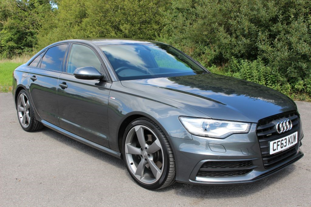 used Audi A6 3.0 TDI QUATTRO S-LINE BLACK EDITION (SAT NAV) in Hampshire