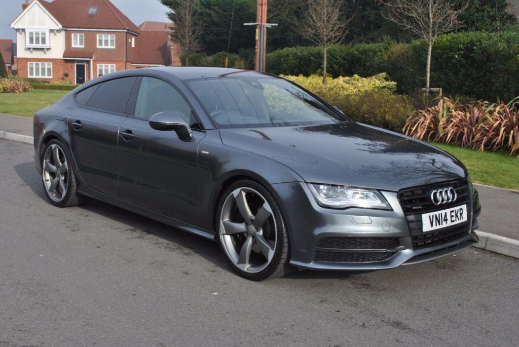 used Audi A7 3.0TDI QUATTRO S LINE BLACK EDITION BI-TURBO in Hampshire