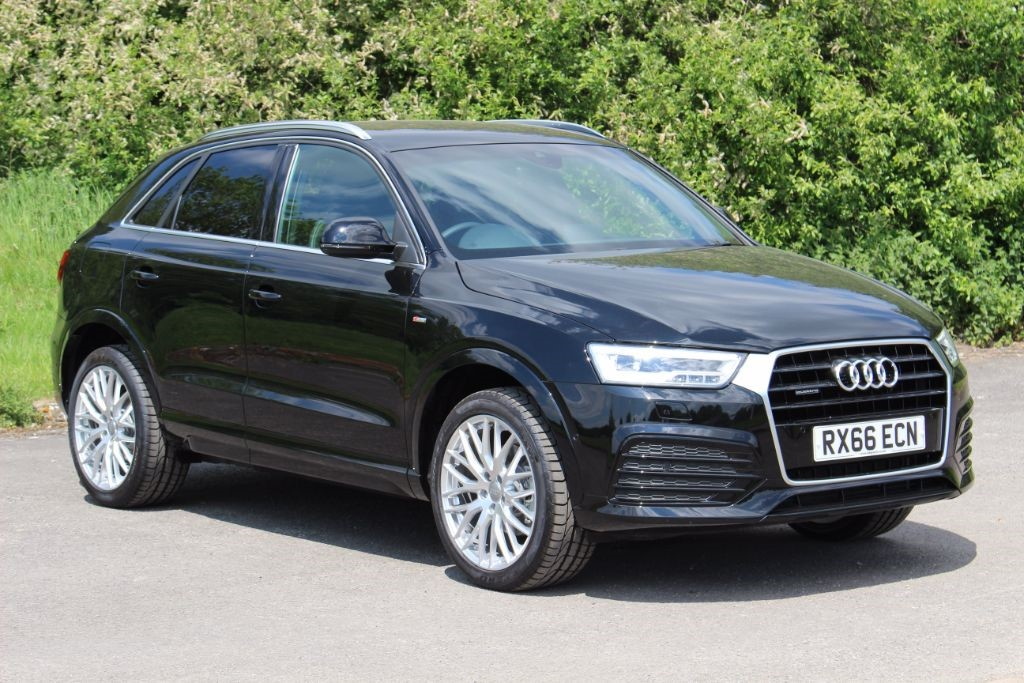 used Audi Q3 2.0 TDI S LINE PLUS QUATTRO Auto (Sat Nav) in Hampshire