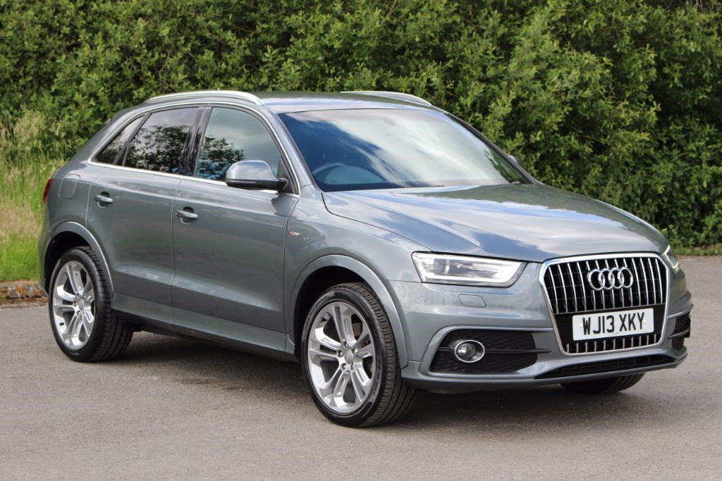 used Audi Q3 2.0 TDI S LINE (SAT NAV) in Hampshire