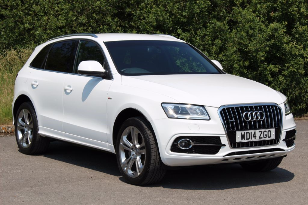 used Audi Q5 2.0 TDI QUATTRO S LINE PLUS (Sat Nav) in Hampshire