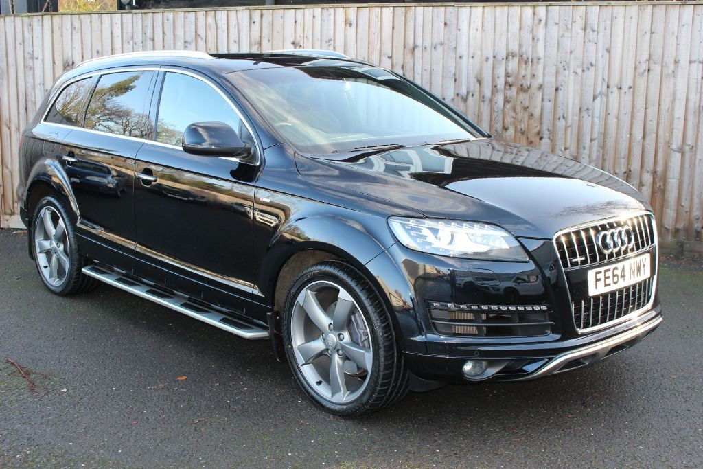 used Audi Q7 3.0 TDI QUATTRO S LINE STYLE EDITION in Hampshire