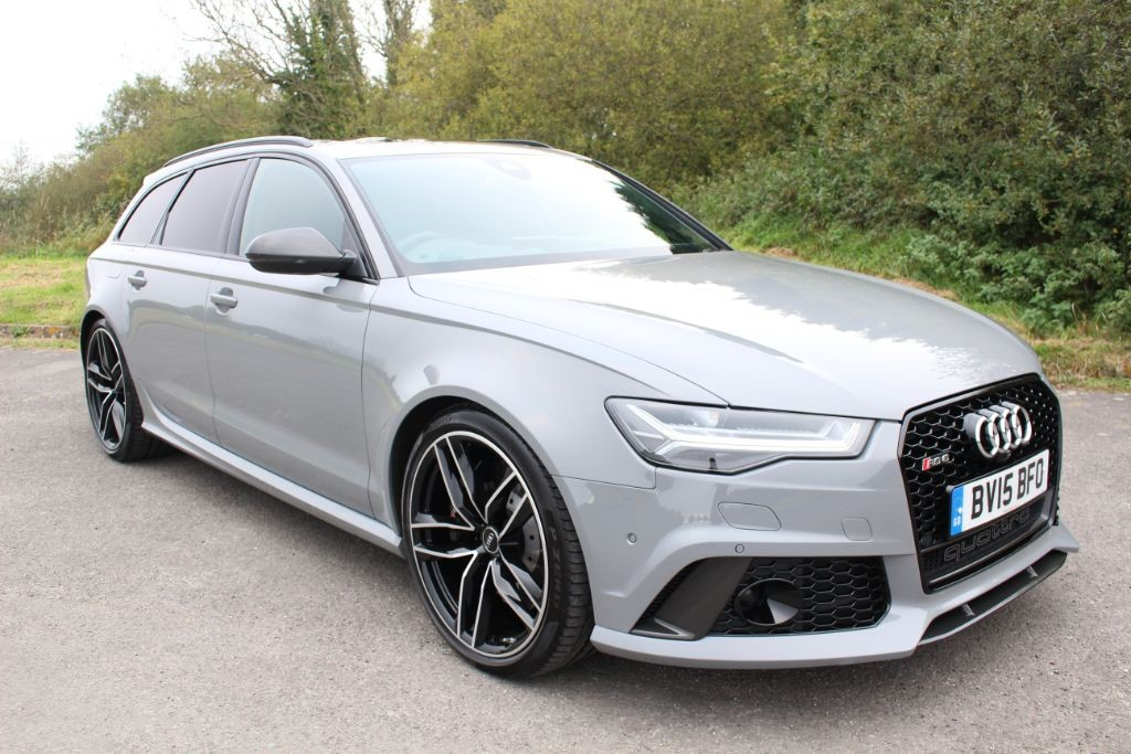 used Audi RS6 Avant 4.0TFSI V8 QUATTRO (SAT NAV) in Hampshire