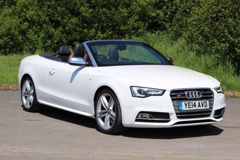 used Audi S5 3.0 TFSI QUATTRO (Sat Nav) in Hampshire