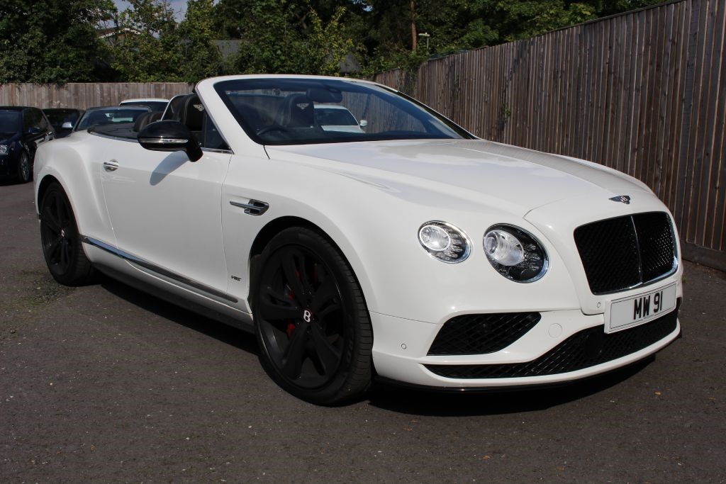 used Bentley Continental GT 4.0 V8 S MDS Convertible (SAT NAV) in Hampshire