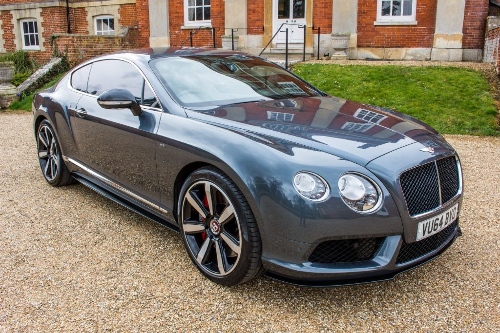 used Bentley Continental GT 4.0 V8 S COUPE MULLINER DRIVING SPEC (SAT NAV) in Hampshire