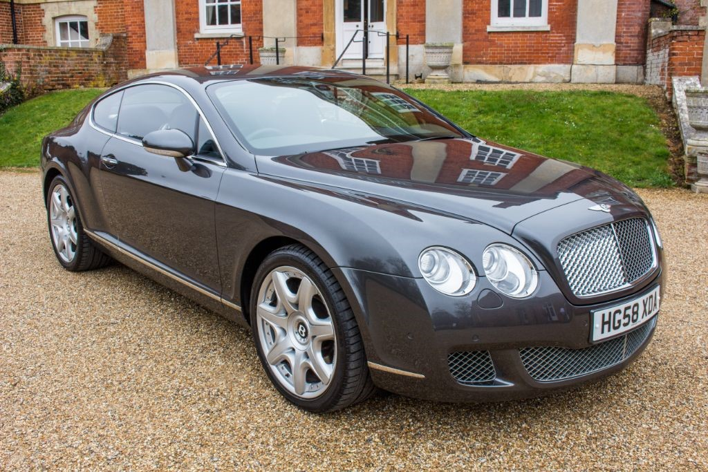used Bentley Continental GT 6.0 W12 Coupe (SAT NAV) in Hampshire
