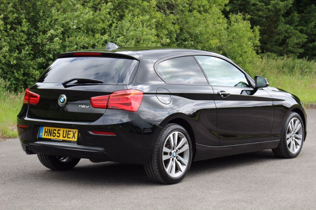 Used Black Bmw 116d For Sale Hampshire