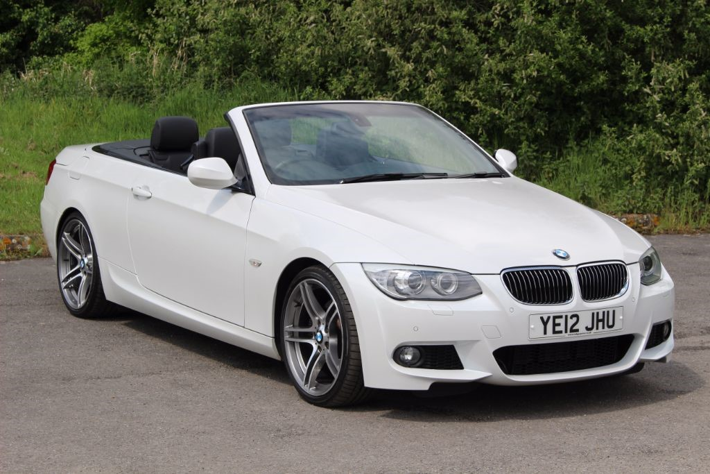 used BMW 330d 3.0 M SPORT CONVERTIBLE (Sat Nav) in Hampshire