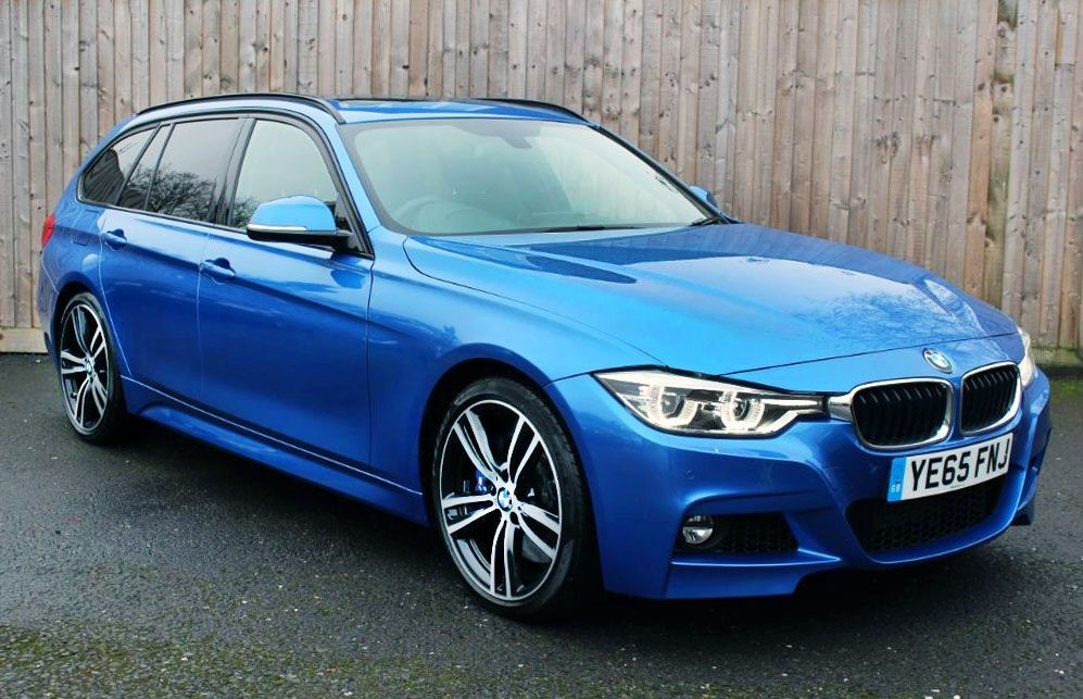 used BMW 340i 3.0i M-SPORT TOURING AUTO (SAT NAV) in Hampshire