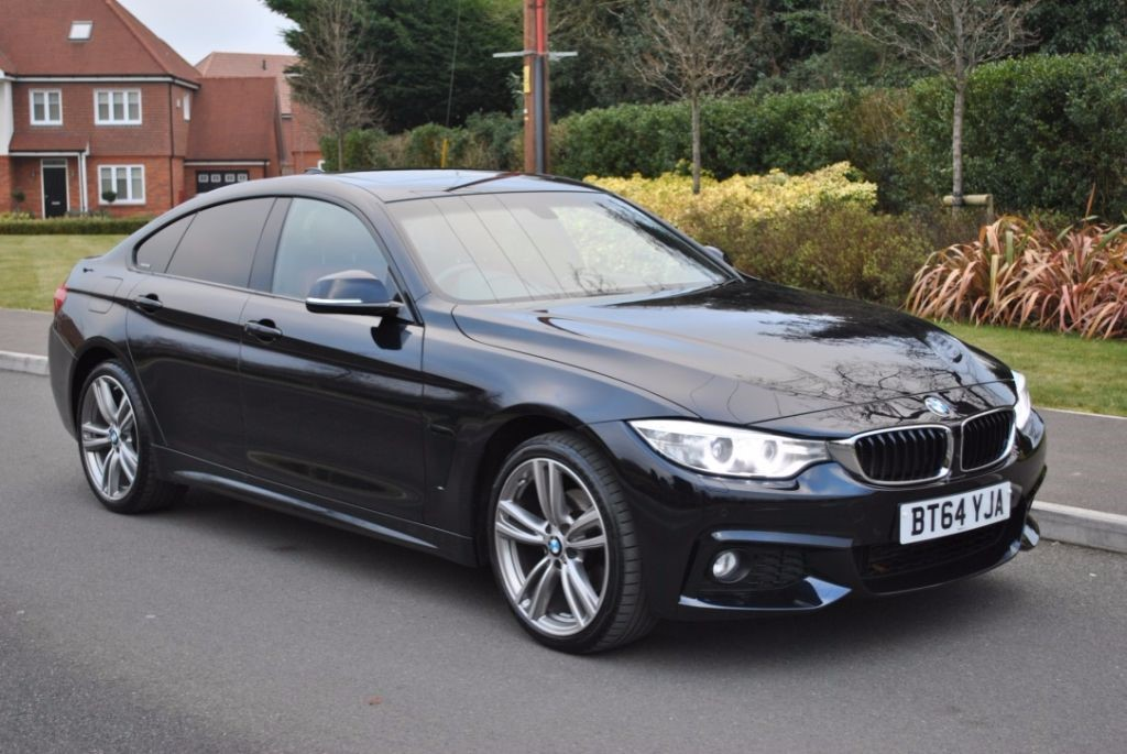 used BMW 420d XDRIVE M-SPORT GRAN COUPE (Sat Nav) in Hampshire