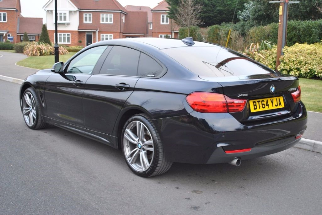 Used Carbon Black Bmw 420d For Sale Hampshire