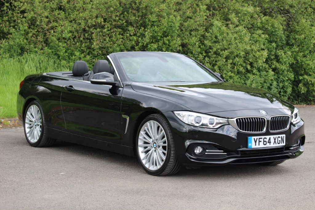 used BMW 428i 2.0 LUXURY (Sat Nav) in Hampshire