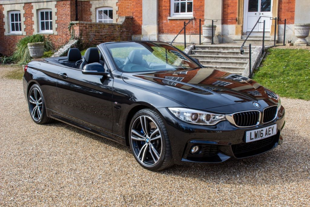 used BMW 430d M SPORT (SAT NAV) in Hampshire