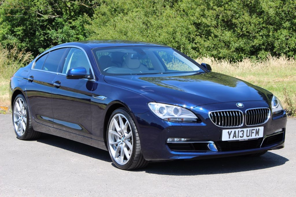 used BMW 640d 3.0 SE GRAN COUPE (Sat Nav) in Hampshire