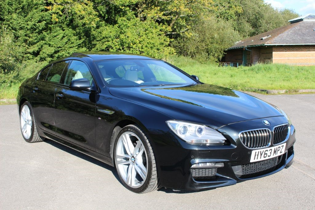 used BMW 640d M-SPORT GRAN COUPE AUTO (SAT NAV) in Hampshire
