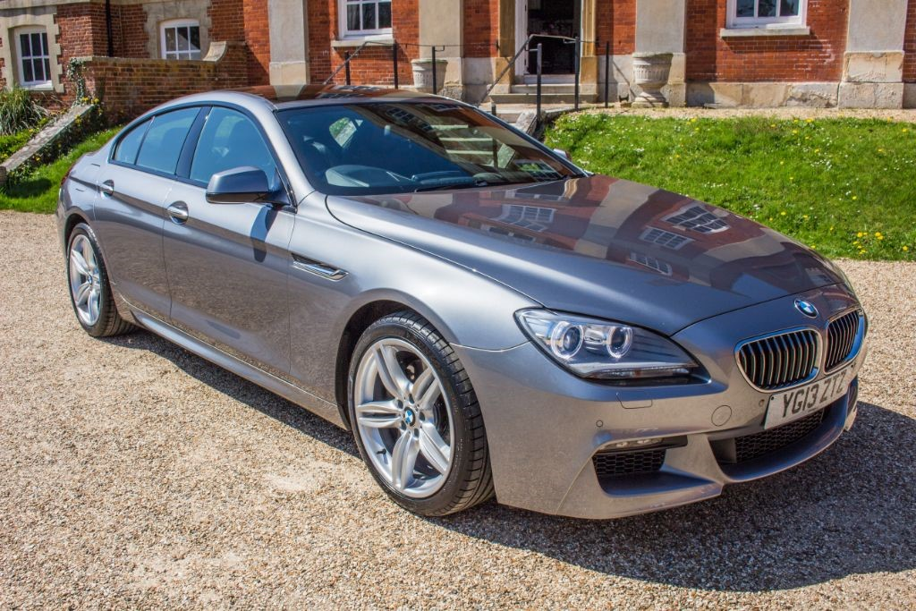 used BMW 640i 3.0 M SPORT GRAN COUPE (SAT NAV) in Hampshire