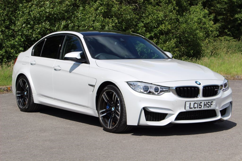 used BMW M3 3.0 DCT (Sat Nav) in Hampshire