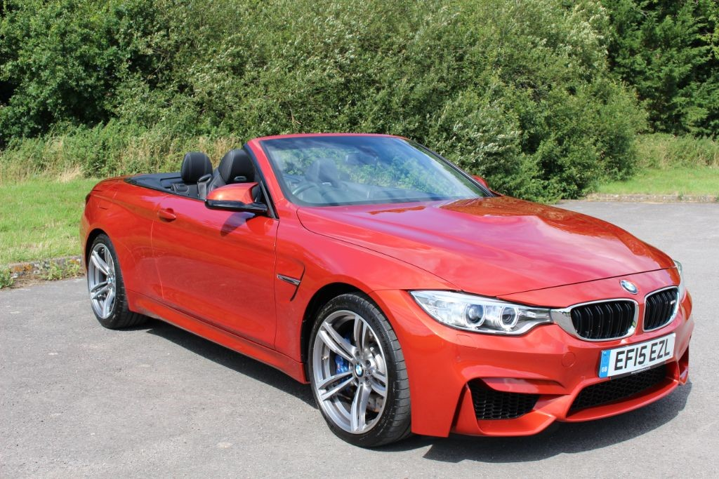 used BMW M4 3.0 DCT CONVERTIBLE (SAT NAV) in Hampshire