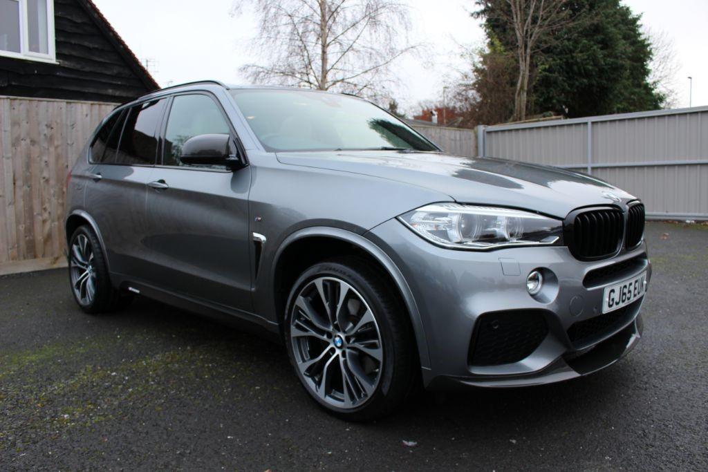 used BMW X5 XDRIVE40D M SPORT M-PERFORMANCE BODYKIT (SAT NAV) in Hampshire