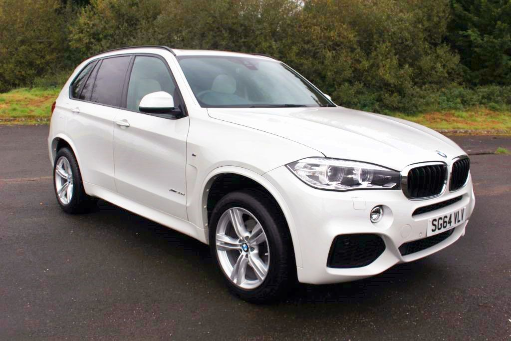 used BMW X5 XDRIVE30D M SPORT (SAT NAV) in Hampshire
