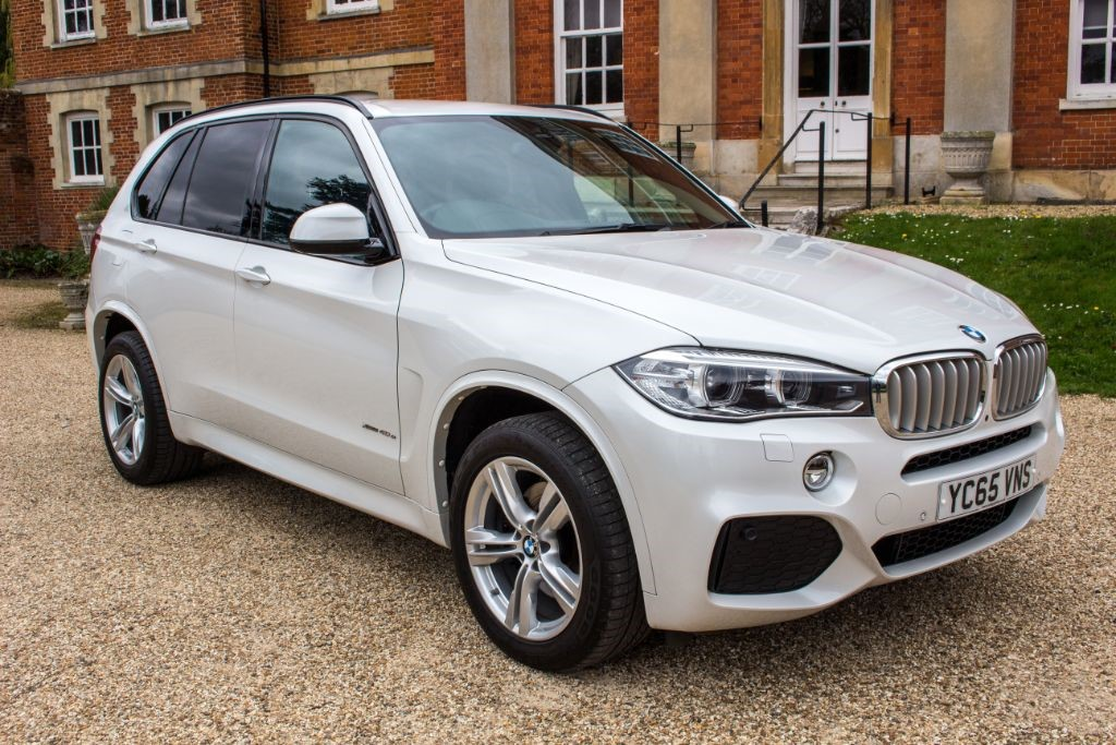 used BMW X5 XDRIVE40E M SPORT (SAT NAV) in Hampshire