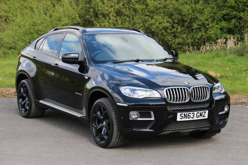 used BMW X6 3.0 XDRIVE40D Auto (SAT NAV) in Hampshire