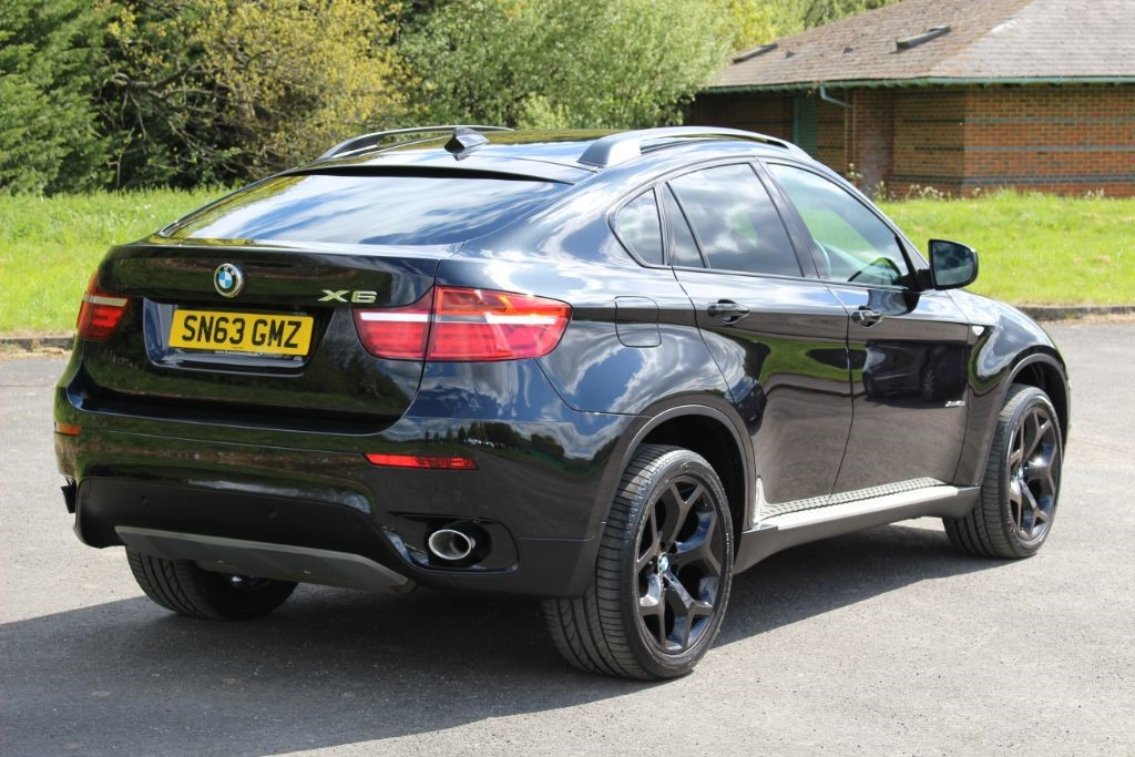 Used Sapphire Black Bmw X6 For Sale Hampshire
