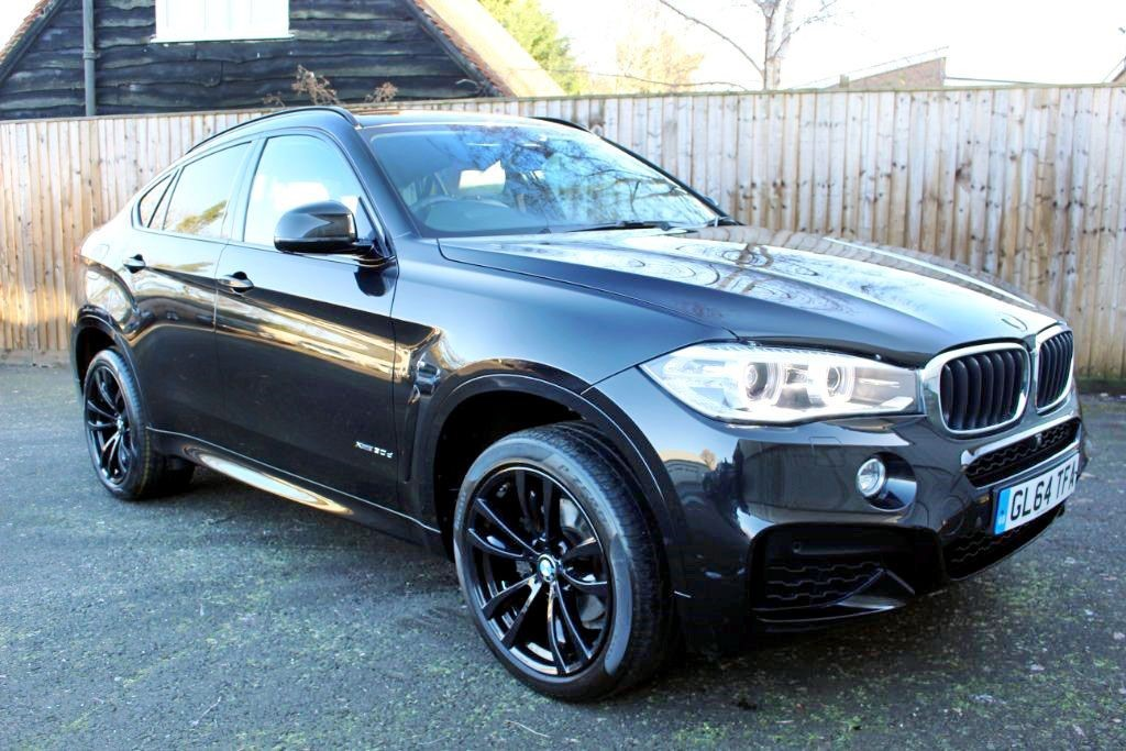 used BMW X6 XDRIVE30D M SPORT (SAT NAV) in Hampshire