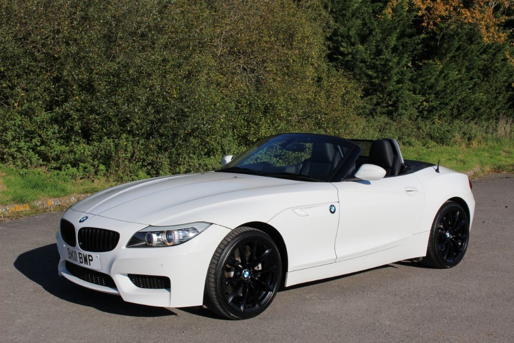 Used Alpine White Bmw Z4 For Sale Hampshire