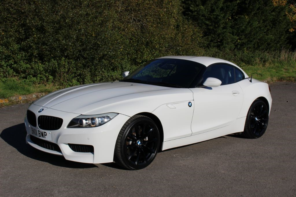 Bmw Z4 Dtc Used Alpine White Bmw Z4 For Sale Hampshire