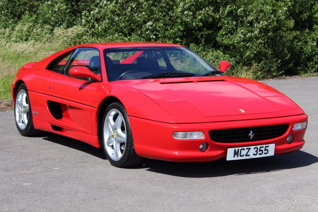 used Ferrari F355 GTB BERLINETTA F1 COUPE in Hampshire