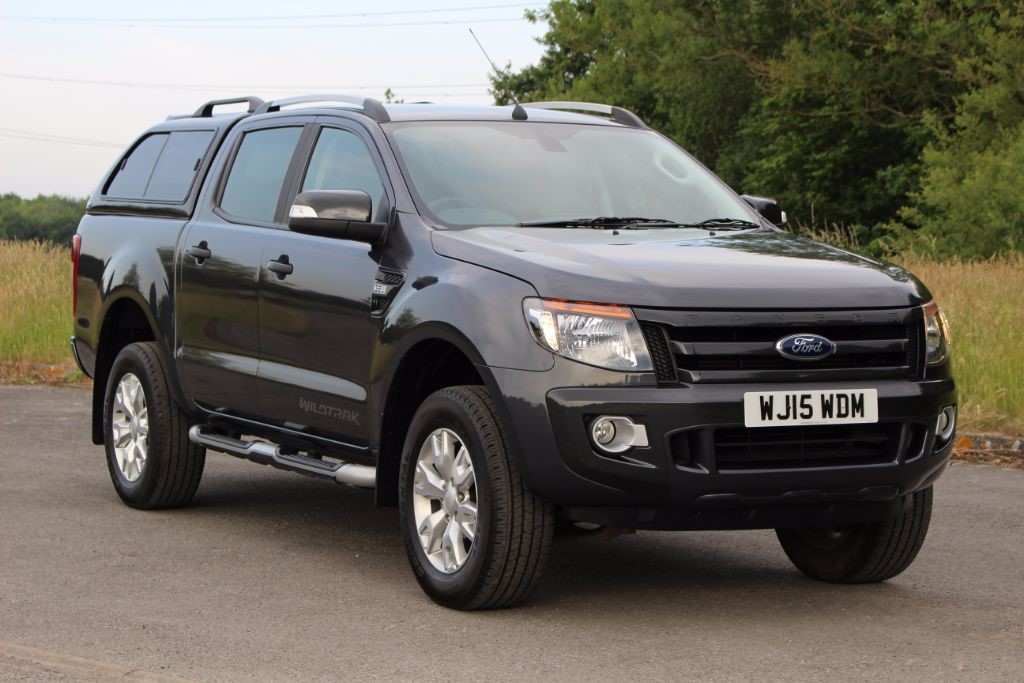 used Ford Ranger 3.2 WILDTRAK 4X4 DCB TDCI in Hampshire