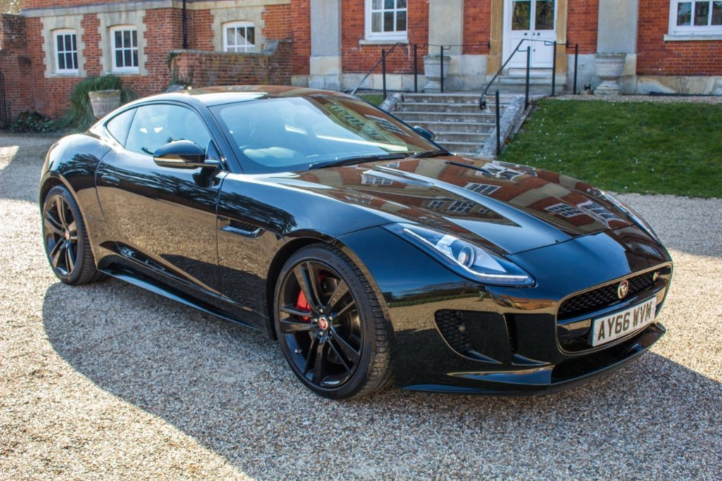 used Jaguar F-Type 3.0V6 S COUPE (SAT NAV) in Hampshire