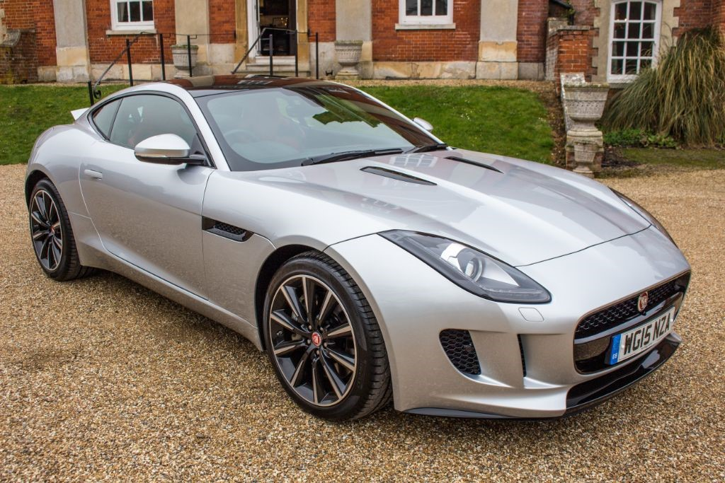 used Jaguar F-Type 3.0 V6 COUPE (SAT NAV) in Hampshire