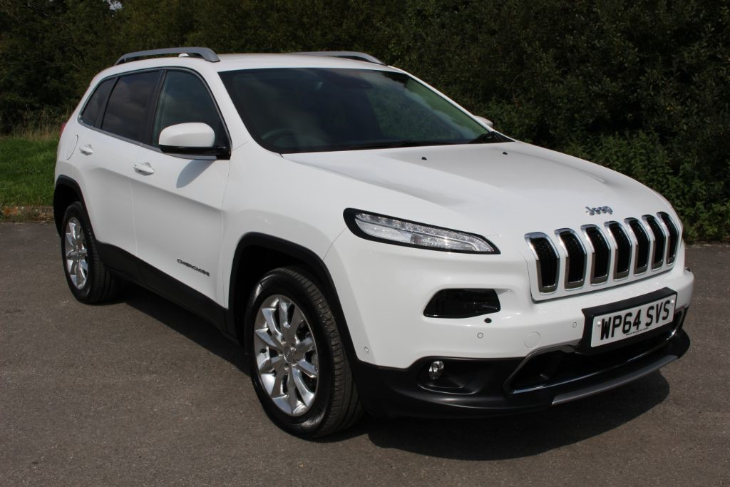 used Jeep Cherokee 2.0 M-JET LIMITED (SAT NAV)  in Hampshire