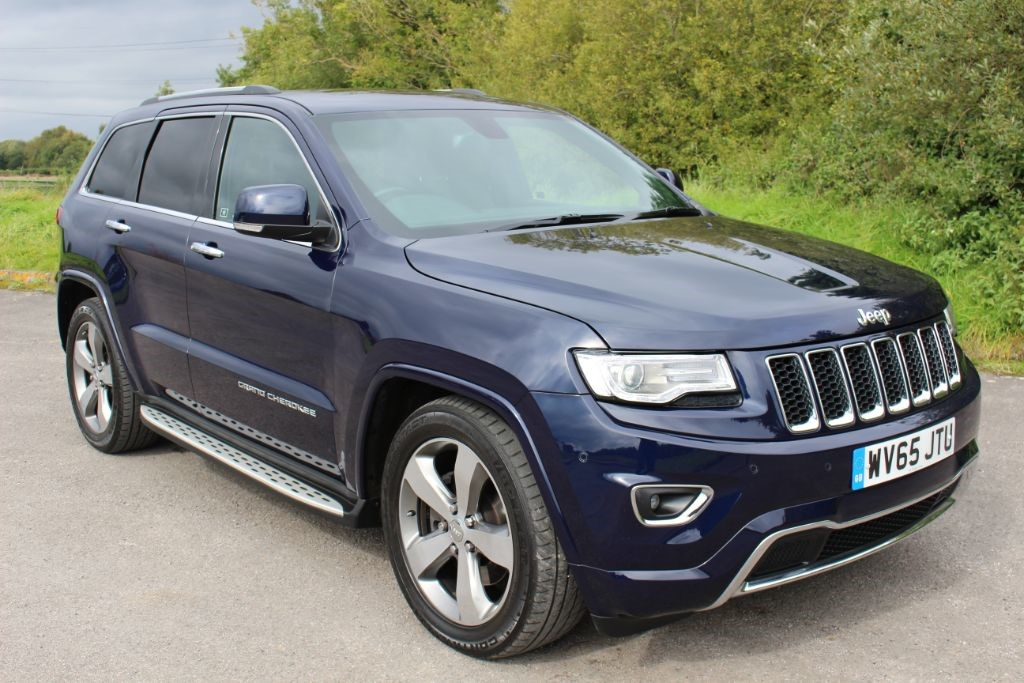 used Jeep Grand Cherokee 3.0 V6 CRD OVERLAND (SAT NAV) in Hampshire