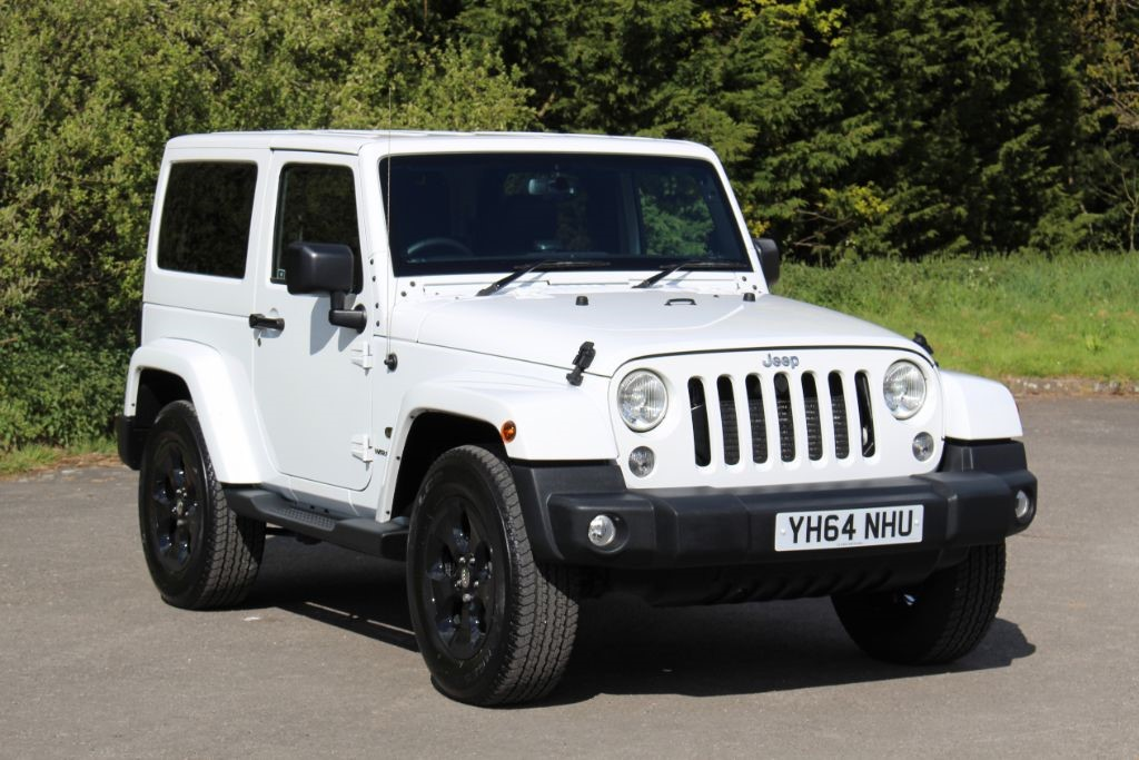 Used Bright White Jeep Wrangler For Sale Hampshire